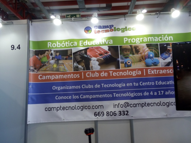 Camp Tecnológico, Educational Provider in Robotics.